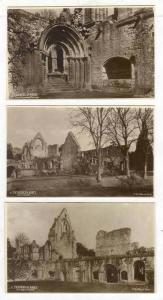 RP, 5-Lot, Exterior, East Side, Cloister, West Door, Abbey Kirk, Processional...