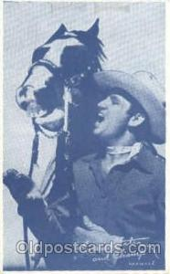 Gene Autrey Non Postcard, Actor, Movie Star, Postcard Post Card Actor Actress...
