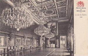Belgium Brussels Palais Royal La Salle des Marbres