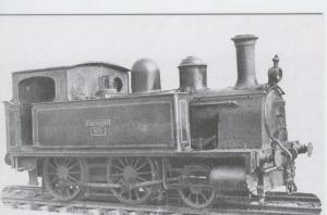 Postal 012159: Locomotora de vapor 120-0224 ex Bilbao-Portugalete)