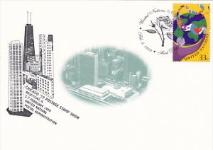 Chicago '99 Postage Stamp Show United Nations Postal Administration