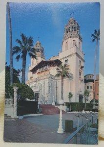 La Casa Grande Hearst San Simeon California Vintage Postcard