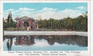 Florida Sarasota Potter Palmer Estate Reached Via The Floridan & The Semin...