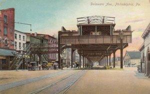 PHILADELPHIA , Pa. , 1900-10s ; Delaware Avenue
