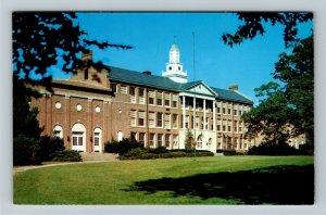 Hillsboro OH- Ohio, Hillsboro High School, Chrome Postcard