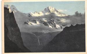 Schweiz Abend im Gebirge, Lauterbrunnen Breithorn, Mountains