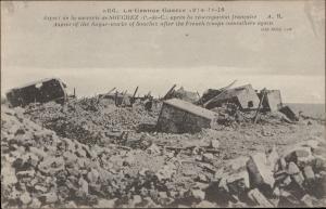 La Grande Guerre sucrerie Souchez Sugar works ruins military war