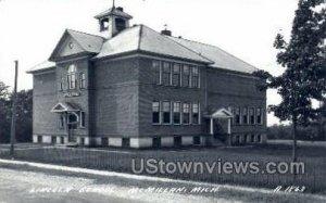 Lincoln School in McMillan, Michigan