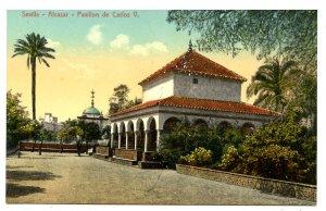 Spain - Sevilla. Alcazar, Pavilion of Carlos V