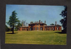 MA Governor Christopher Gore Place House Waltham Mass Massachusetts Postcard