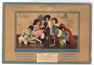 Dionne Quintuplets 1938 Calendar. Bush-Ronertson, Wolcott NY
