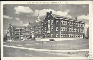Westerly, R.I., Ward Senior High School (1947)