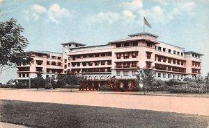 The Manila Hotel Manila Philippines 1921 Missing Stamp