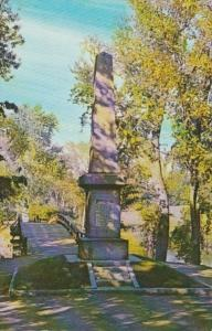 Massachusetts Concord Obelisk Where First British Soldiers Fell