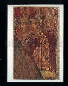 180161 CYPRUS fragment of icons w/ faces 3 apostles postcard