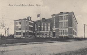 SALEM, Massachusetts, PU-1907; State Normal School