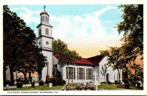Virginia Richmond Old St John's Church Curteich