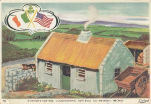 John F Kennedys Cottage Dunganstown New Ross Ireland Postcard