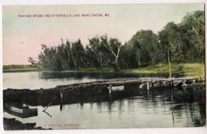 Pontoon Bridge & O'Ferrall's Lake, Canton MO