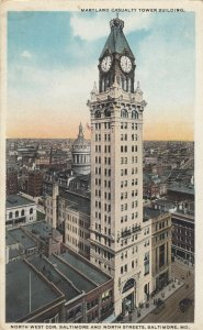 BALTIMORE , Maryland,1910s ; Maryland Casualty Tower Building