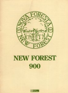 New Forest 1970s Directory Souvenir Guide Map Book