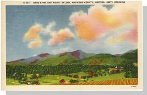 Nice Haywood County, North Carolina/NC Postcard, Jones Knob