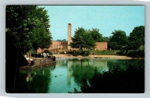 Cleveland OH-Ohio, Cleveland Zoo, Bird Building, Brookside Park, Chrome Postcard