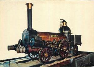 Beuth locomotive postcard