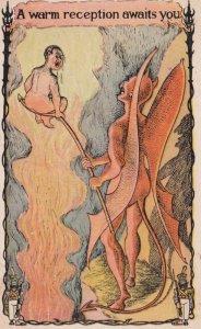 DEVIL ; A warm reception awaits you , 00-10s
