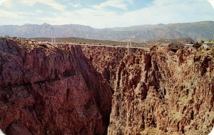 CO - Royal Gorge Bridge and View