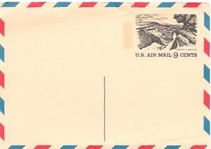 US Pre-stamped Mint Airmail Postcard UX61 Grand Canyon