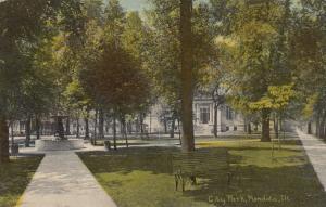 MENDOTA , Illinois, 00-10s ; City Park