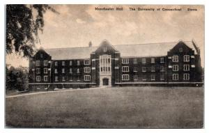 Manchester Hall, University of Connecticut, Storrs, CT Postcard