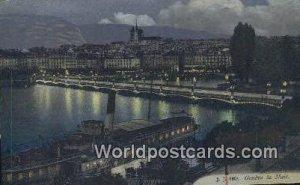 La Nuit Geneve Swizerland Unused