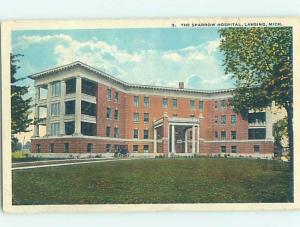 W-Border HOSPITAL SCENE Lansing Michigan MI W3181