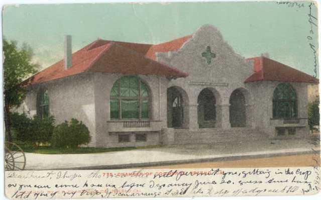 UND/B Chamber of Commerce Fresno California CA 1907