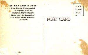 Williston, North Dakota - the El Rancho Motel - Heart of the Williston Oil Basin