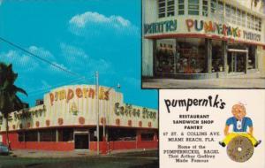 Pumpernik's Restaurant Sandwich Shop & Pantry Miami Beach Florida