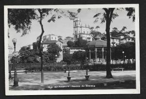 Gloria Castle Rio de Janeiro Brazil RPPC unused c1920's