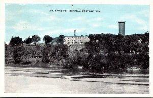 Wisconsin Portage St Savior's Hospital 1938