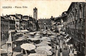 CPA VERONA Piazza Erbe . ITALY (493268)