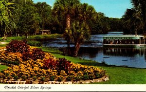 Florida Silver Springs Glass Bottom Boats On Silver River