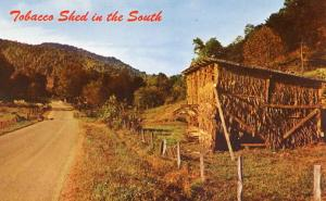 Tobacco Shed in the South