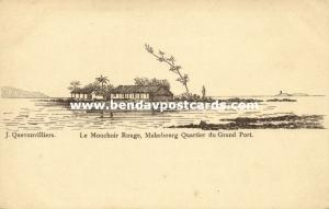 mauritius, MAHEBOURG, Mouchoir Rouge, Quartier du Grand Port (1905)
