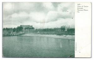Early 1900s Casino and Grounds, Newport News, VA Postcard