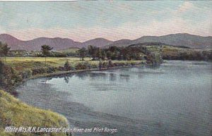 New Hampshire White Mountains Lancaster Conn River And Pilot Range