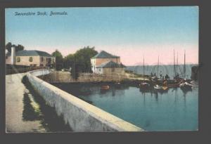 090301 BERMUDA Devonshire Dock Vintage PC