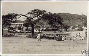 ethiopia, DIRE DAWA, Entrance Native Quarter 1950s RPPC