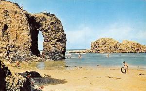 Perranporth Chapel Rock Cave Beach
