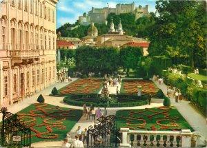 Austria Postcard Salzburg Mirabellgarten